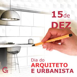 Dia do Arquiteto e Urbanista
